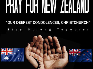 Pray for Christchurch