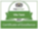 Villa Taluh TripAdvisor Certificate of Excellence