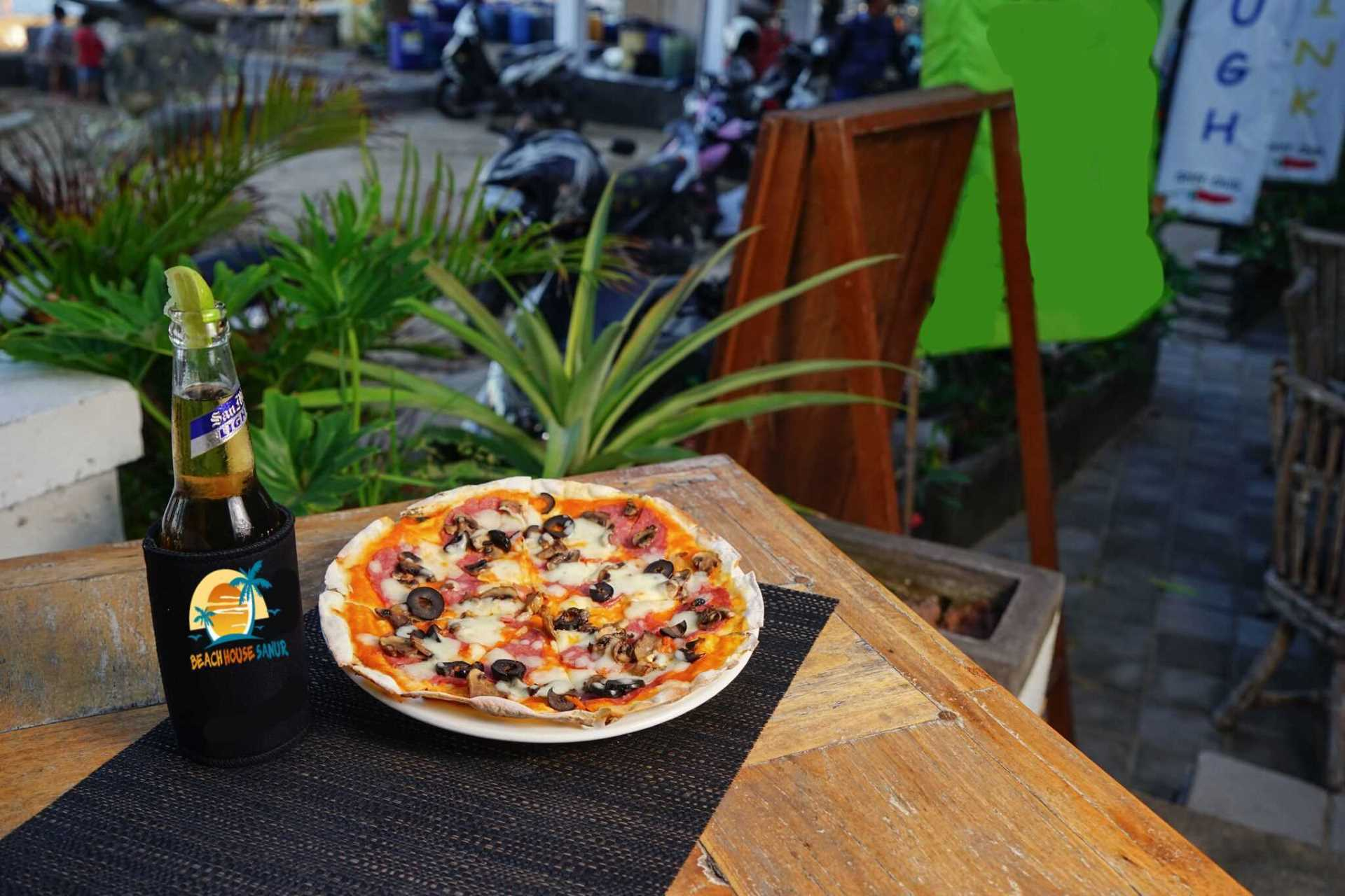 Beach House Sanur | Pizzas