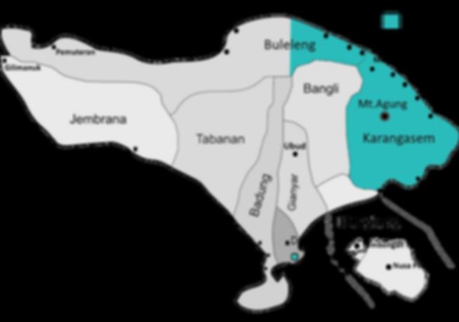 The Bali Foundation | Bali Map