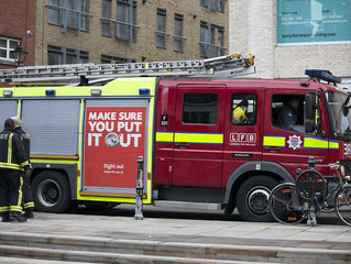 London Firefighters Promote Vaping As a Safer Choice