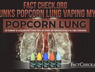"""Popcorn Lung"" Myth Debunked"