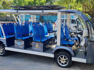 All Aboard The Electric Sanur Shuttle Bus