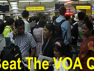 NO MORE QUEUES - BALI VOA FAST TRACK SERVICE