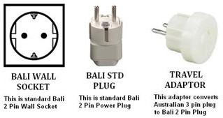 BALI POWER PLUG ADAPTERS