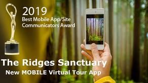 Ridges Sanctuary Tour Wins a Gold Communicator Award