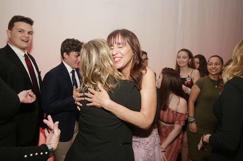 Ivy Schamis and Amy Poehler