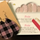 Thumbnail: Petite... Tiny & Shiny & Matching Faux Leather Earrings