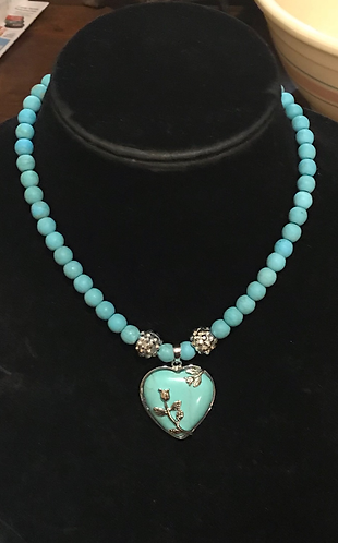 Turquoise Doggie Necklace