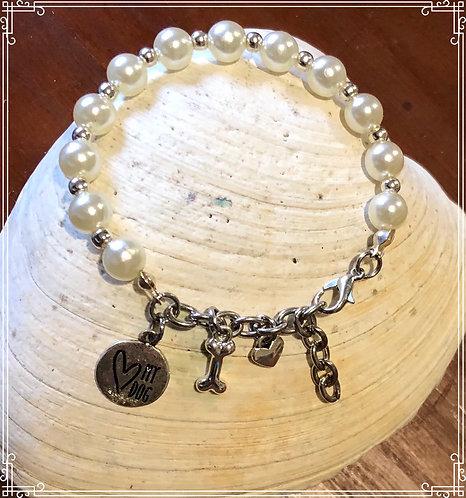 Mommy Bracelet for her Favorite Doggie