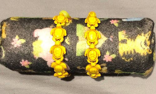 Yellow Turtle Bracelets