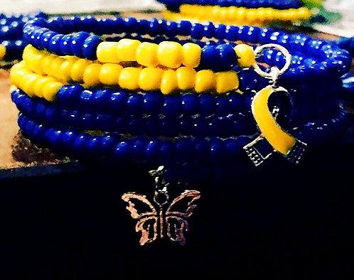 Down Syndrome Wrap Bracelet