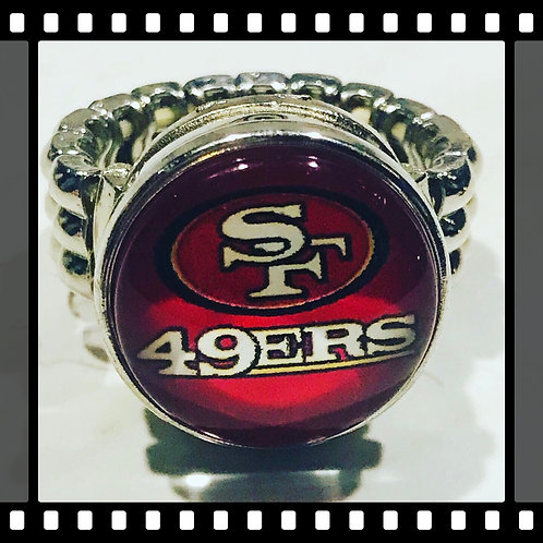 San Francisco 49ers Snap Ring