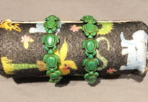Green Turtle Bracelets