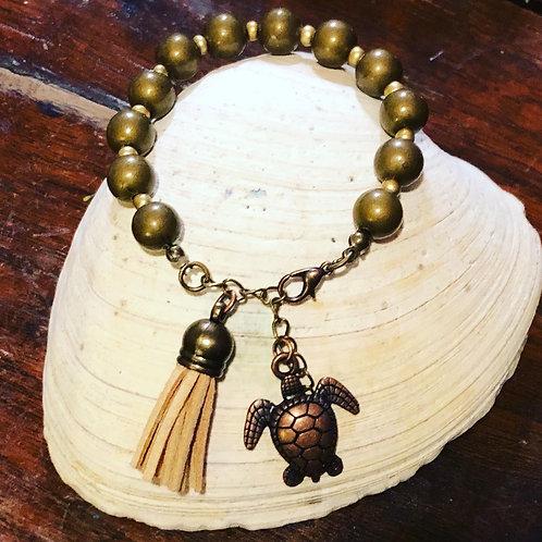 Turtle tassel Bracelet