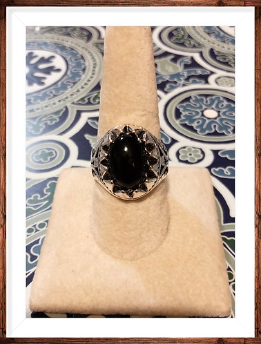 Men's Stainless steel ring size 10