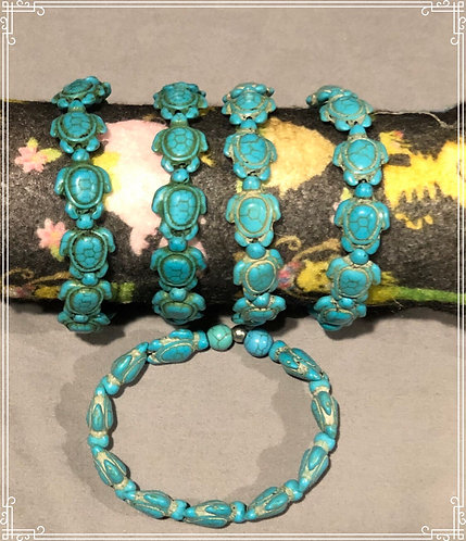 Turquoise Turtle Bracelets