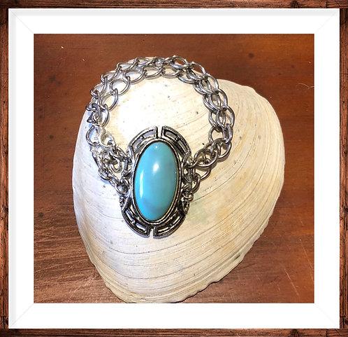 Double sided Turquoise Bracelet