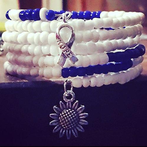 ALS Awareness Wrap Bracelet