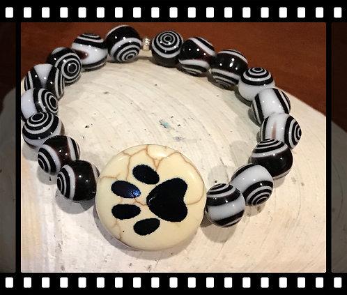 Cute mommy Dog paw bracelet