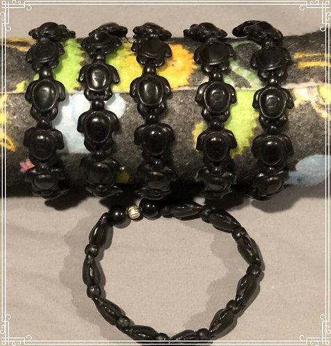Black Turtle Bracelets