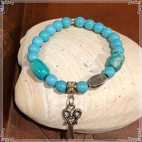 Turquoise HairSylist Bracelet