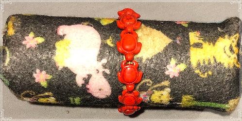Orange Turtle Bracelet