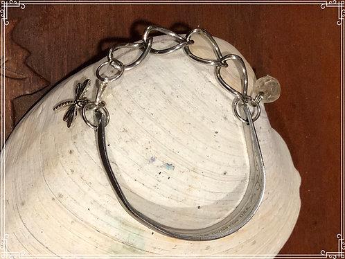 Cute silverware bracelet