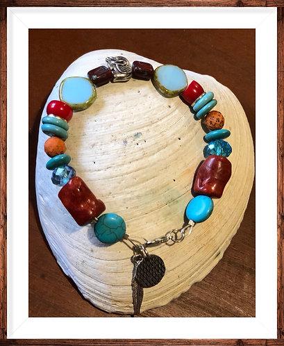 Fun colorful Elephant Bracelet