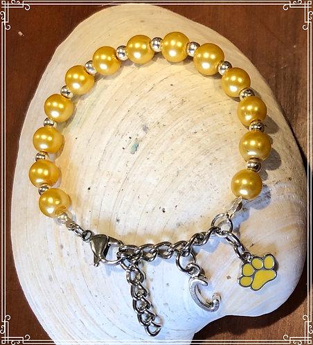 Initial Doggie Bracelet for Mommy