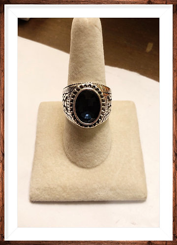 Men's Stainless steel ring size 9
