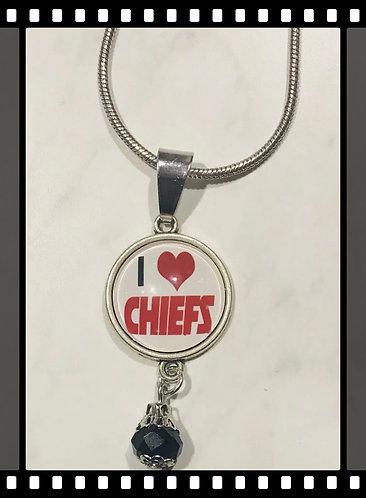 Kansas City Chiefs Necklace