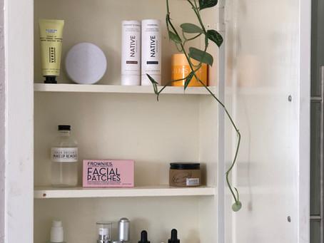 My Skincare Cabinet