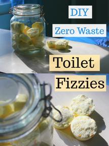 DIY Zero Waste Toilet Cleaner