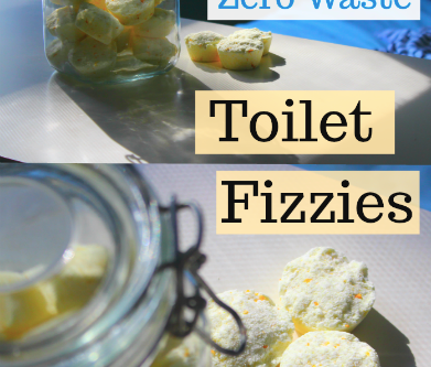 DIY Zero Waste Toilet Bowl Fizzies