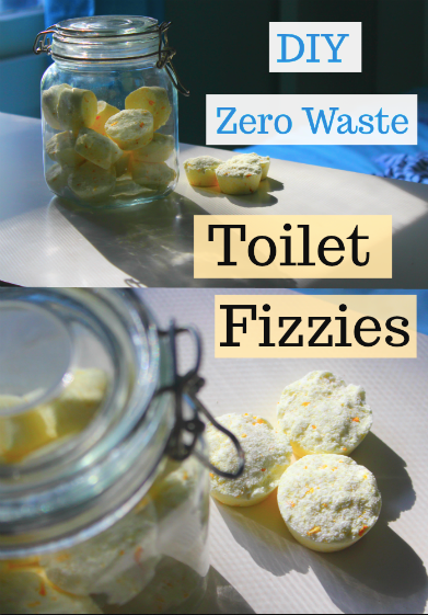 DIY Zero Waste Toilet Cleaner