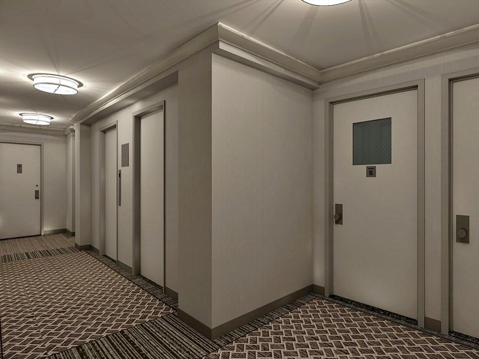 Upper East Side Hallways III