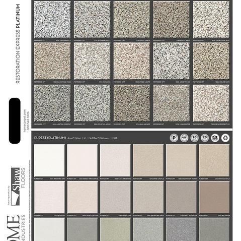 Platinum Carpet Front