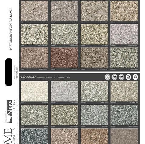 Silver Carpet Front