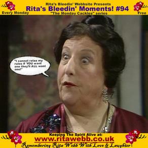 Rita's Bleedin' Moments! #94