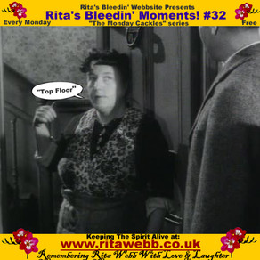 Rita's Bleedin' Moments! #32