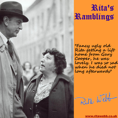 Rita Webb and Gary Cooper