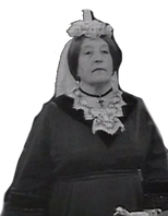 Rita Webb as Queen Victoria