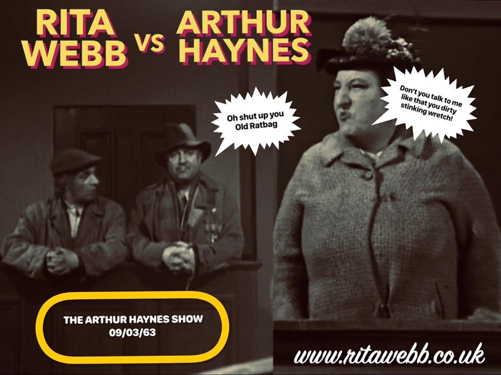 Rita Webb and Arthur Haynes