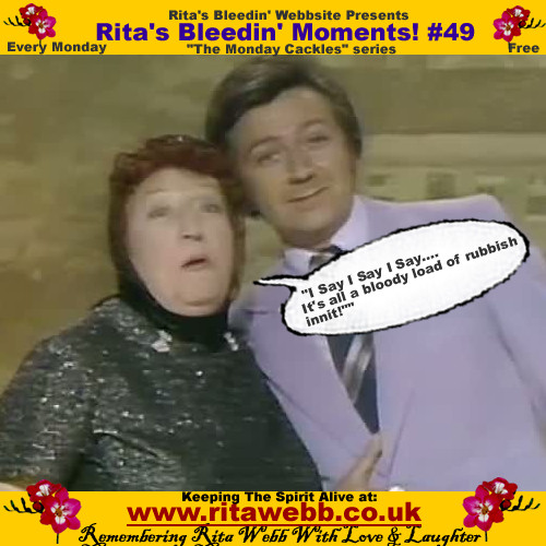 Rita Webb with Des O'Connor