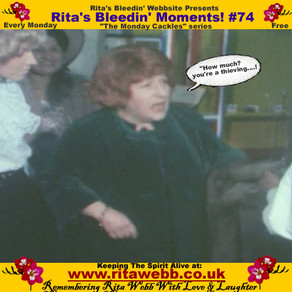 Rita's Bleedin' Moments! #74