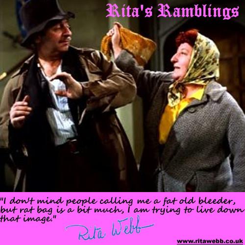 Rita Webb with Arthur Haynes