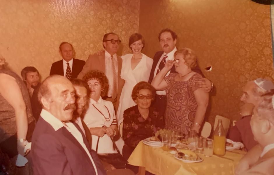 1970s Celebration In Israel with Imi Lichtenfeld