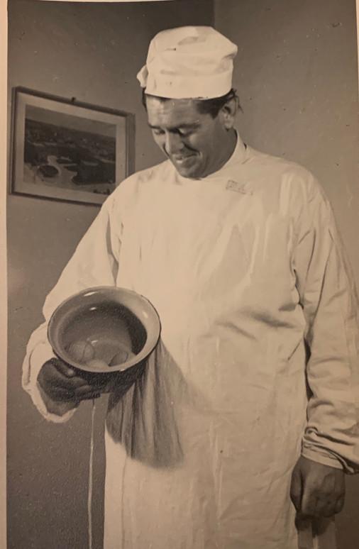 Doctor Zalman Dressed for Purim