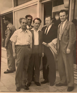 1960's Zalman with Walter Reuther